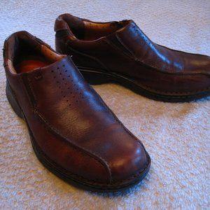 CLARK'S Unstructured Men's Leather Shoes Size 12M